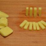 Картофель брусочками
