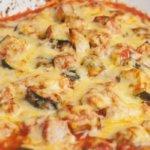 Рецепт классической запеканки с курицей кабачками и картофелем