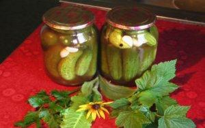 Консервированные огурцы в томатном соке на зиму рецепт с фото